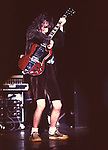 AC/DC 1980's - Angus Young..© Chris Walter..