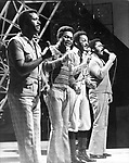 Four Tops 1971 on Top Of The Pops.© Chris Walter.