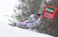 ATENCAO EDITOR IMAGEM EMBARGADA PARA VEICULOS INTERNACIONAIS - SEMMERING, AUSTRIA, 28 DEZEMBRO 2012 - AUDI FIS ALPINE WORLD CUP - A atleta austriaca Elisabeth Goergl compete na prova de Slalom Gigante do esqui Alpino durante a Audi FIS World Cup em Semmering na Austria nesta sexta-feira, 28. (FOTO: PIXATHLON / BRAZIL PHOTO PRESS).