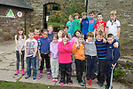 Pupils from St James Church of England Primary school in Hereford..Talybont-On-Usk.30.04.12.©Steve Pope