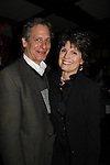 As The World Turns' Scott Bryce & Lucie Arnaz worked together in a film as they attend the opening night of Dracula on January 5, 2011 at the Little Shubert Theatre, New York City, New York and after party at Sardis. (Photo by Sue Coflin/Max Photos)
