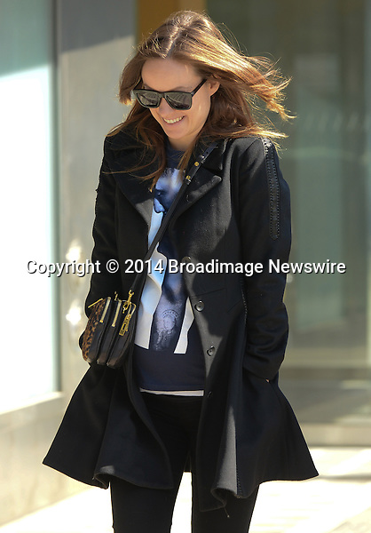 Pictured: Olivia Wilde<br /> Mandatory Credit &copy; Jayme Oak/Broadimage<br /> Olivia Wilde looks radiant while make-up free on an invigorating stroll in New York City<br /> <br /> 3/8/14, New York, New York, United States of America<br /> Reference: 030814_JKNY_BDG_014<br /> <br /> Broadimage Newswire<br /> Los Angeles 1+  (310) 301-1027<br /> New York      1+  (646) 827-9134<br /> sales@broadimage.com<br /> http://www.broadimage.com