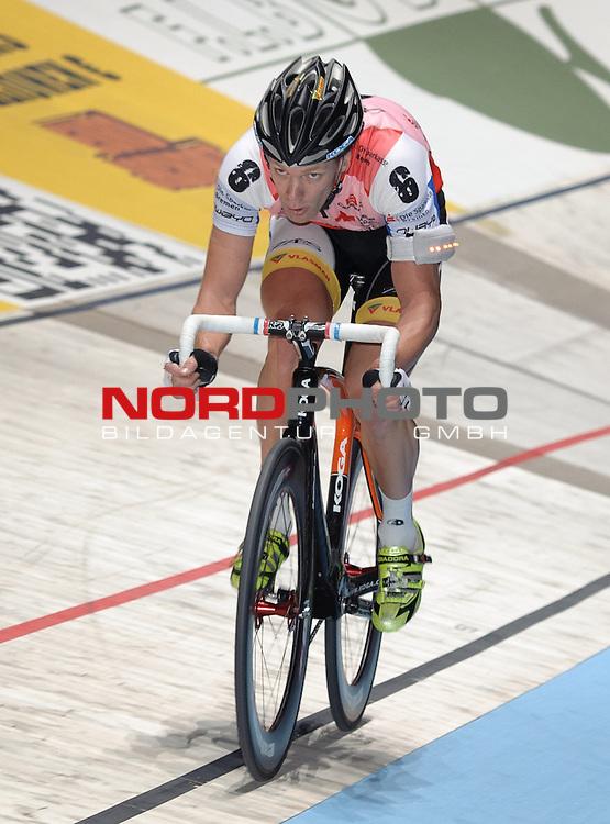 14.01.2014, &Ouml;VB Arena, Bremen, GER, Sixdays Bremen, im Bild Wim Stroetinga (Team Sparkasse Bremen #6)<br /> <br /> Foto &copy; nordphoto / Frisch