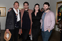 "NEW YORK CITY - APRIL 20: Sebastian Roche, Robert Sheehan, Laure Sudreau and Seth Gabel attend the Sotheby's lunch and private preview of works by Picasso in conjunction with the National Geographic show ""Genius: Picasso"" at Sotheby's on April 20, 2018 in New York City. (Photo by Anthony Behar/National Geographic/PictureGroup)"