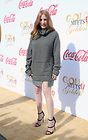 WEST HOLLYWOOD, CA - JANUARY 6: Jessica Chastain at the Gold Meets Golden 5th Anniversary party at The House On Sunset in West Hollywood, California on January 6, 2018. <br /> CAP/MPI/FS<br /> &copy;FS/MPI/Capital Pictures