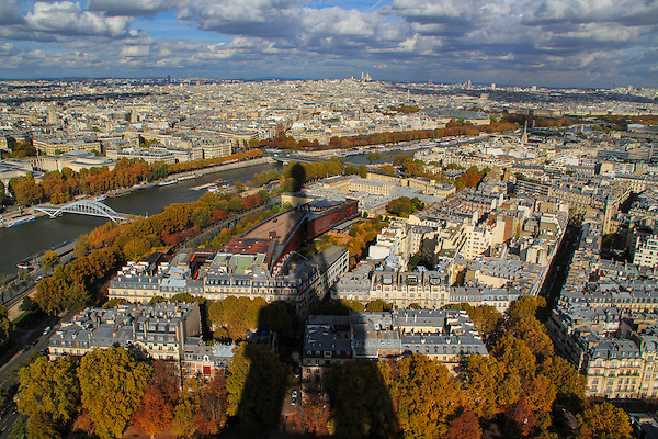 Shadow of the Eiffel Towers seen from the Eiffel Tower, autumn, Paris, France. .  John offers private photo tours in Denver, Boulder and throughout Colorado, USA.  Year-round. .  John offers private photo tours in Denver, Boulder and throughout Colorado. Year-round.