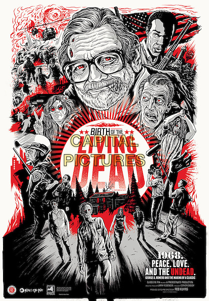 POSTER ART<br /> in Birth of the Living Dead (2013) <br /> *Filmstill - Editorial Use Only*<br /> CAP/FB<br /> Image supplied by Capital Pictures