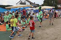 Vorbereitung zur Abschlussveranstaltung der Ferienspiele der Kinder- und Jugendförderung Trebur