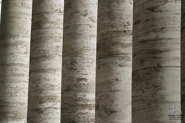 Pillars in St. Peter's Square