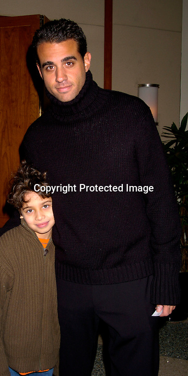 Bobby Cannavale and son Jake ..at the Cooley's Anemia Foundation's  1st Annual Winter Wonderland Carnival on Februay 8, 2004 at Pier Sixty at the Chelsea ..Piers. Photo by Robin Platzer, Twin Images
