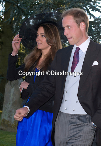 """PRINCE WILLIAM & KATE MIDDLETON_looking glum.They attended the wedding of friends Harry Meade and Rosie Bradford at the Church of St Peter & St Paul, Northleach_Gloucestershire_23/10/2010.Mandatory Photo Credit: ©Dias/DIASIMAGES..**ALL FEES PAYABLE TO: """"NEWSPIX INTERNATIONAL""""**..PHOTO CREDIT MANDATORY!!: DIASIMAGES(Failure to credit will incur a surcharge of 100% of reproduction fees)..IMMEDIATE CONFIRMATION OF USAGE REQUIRED:.DiasImages, 31a Chinnery Hill, Bishop's Stortford, ENGLAND CM23 3PS.Tel:+441279 324672  ; Fax: +441279656877.Mobile:  0777568 1153.e-mail: info@diasimages.com"""