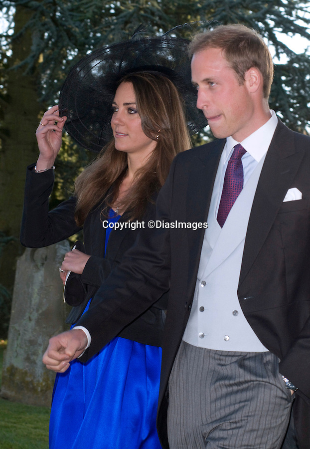 "PRINCE WILLIAM & KATE MIDDLETON_looking glum.They attended the wedding of friends Harry Meade and Rosie Bradford at the Church of St Peter & St Paul, Northleach_Gloucestershire_23/10/2010.Mandatory Photo Credit: ©Dias/DIASIMAGES..**ALL FEES PAYABLE TO: ""NEWSPIX INTERNATIONAL""**..PHOTO CREDIT MANDATORY!!: DIASIMAGES(Failure to credit will incur a surcharge of 100% of reproduction fees)..IMMEDIATE CONFIRMATION OF USAGE REQUIRED:.DiasImages, 31a Chinnery Hill, Bishop's Stortford, ENGLAND CM23 3PS.Tel:+441279 324672  ; Fax: +441279656877.Mobile:  0777568 1153.e-mail: info@diasimages.com"