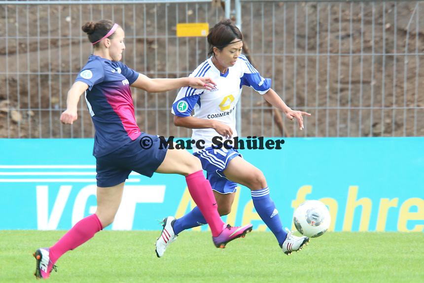 Kouze Ando (FFC) setzt sich durch - 1. FFC Frankfurt vs. SG Essen-Schönebeck