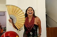 """ATENÇÃO EDITOR: FOTO EMBARGADA PARA VEÍCULOS INTERNACIONAIS. SAO PAULO, SP, 11 DE DEZEMBRO DE 2012. LANÇAMENTO DO BLOG MAMAE DE PRIMEIRA VIAGEM. A cantora Fafa de Belem  durante o  lançamento do seu novo blog """"Mamãe de primeira viagem"""" da cantora Mariana Belem, que terá dicas sobre gestação e maternidade. A página Mamãe de Primeira Viagem terá informações sobre o dia a dia da família, depoimentos de outras mães, e da própria Mariana, vídeos, entrevistas e looks especiais para as crianças. O lancamento aconteceu na tarde desta terça feira nos Jardins. FOTO ADRIANA SPACA - BRAZIL PHOTO PRESS."""