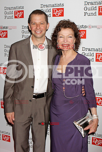 Jon Cryer and mother Gretchen Cryer attend The Dramatists Guild Fun's 50th Anniversary Gala at the Mandarin Oriental in New York, 03.06.2012...Credit: Rolf Mueller/face to face /MediaPunch Inc. ***FOR USA ONLY***