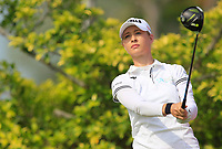 Nelly Korda (USA) in action on the 3rd during Round 3 of the HSBC Womens Champions 2018 at Sentosa Golf Club on the Saturday 3rd March 2018.<br /> Picture:  Thos Caffrey / www.golffile.ie<br /> <br /> All photo usage must carry mandatory copyright credit (&copy; Golffile | Thos Caffrey)
