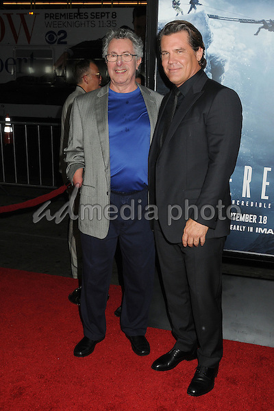 "9 September 2015 - Hollywood, California - Dr. Beck Weathers, Josh Brolin. ""Everest"" Los Angeles Premiere held at the TCL Chinese Theatre. Photo Credit: Byron Purvis/AdMedia"