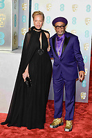 LONDON, UK - FEBRUARY 10: Tonya Lewis Lee and Spike Lee at the 72nd British Academy Film Awards held at Albert Hall on February 10, 2019 in London, United Kingdom. Photo: imageSPACE/MediaPunch<br /> CAP/MPI/IS<br /> ©IS/MPI/Capital Pictures
