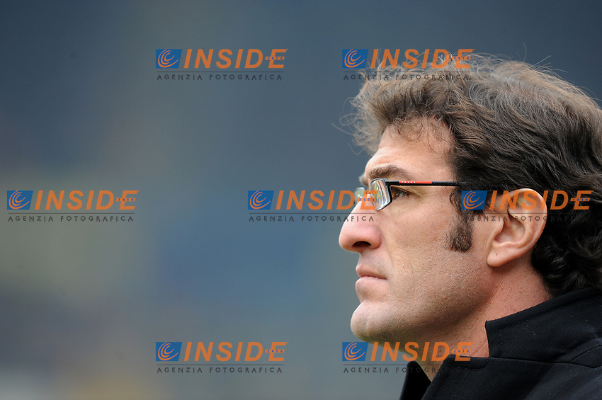 Ciro Ferrara (Juventus).<br /> Verona, 17/01/2010 Stadio &quot;Bentegodi&quot;<br /> Chievo-Juventus<br /> Campionato Italiano Serie A 2009/2010<br /> Foto Nicol&ograve; Zangirolami Insidefoto