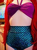 ENGLAND, Brighton, Mermaid Bathing Suit