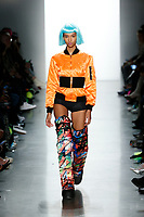 Jeremy Scott<br /> Aiden Curtiss<br /> New York Fashion Week <br /> FW18<br /> <br /> New York Fashion Week,  New York, USA in February 2018.<br /> CAP/GOL<br /> &copy;GOL/Capital Pictures