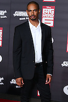 HOLLYWOOD, LOS ANGELES, CA, USA - NOVEMBER 04: Damon Wayans Jr. arrives at the Los Angeles Premiere Of Disney's 'Big Hero 6' held at the El Capitan Theatre on November 4, 2014 in Hollywood, Los Angeles, California, United States. (Photo by Xavier Collin/Celebrity Monitor)