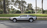 "COPY BY TOM BEDFORD<br /> Pictured: A Delorean car once belonged to actor Patrick Swayze that was sold at auction<br /> Re: The iconic black leather jacket worn by Patrick Swayze in the hit film Dirty Dancing has sold for $50,000 (£38,612) at auction.<br /> It was bought by a fan after the tragic actor's wife decided to sell his movie memorabilia. <br /> The jacket had a reserve of just $6,000(£4,630) at the auction in Los Angeles but an internet bid of $25,000(£19,300) was received before the auction started.<br /> The salesroom erupted with applause when the hammer came down at $50,000.<br /> Auctioneer Darren Julien said: ""We always knew it would fetch big bucks.<br /> ""The jacket is the holy grail for Patrick Swayze fans and there are a lot out there.""  <br /> The heart throb actor wore the James Dean-style jacket throughout Dirty Dancing including the  scene where he says: ""Nobody puts Baby in a corner"".<br /> The jacket belonged to Swayze before the movie was made in 1987.<br /> Dirty Dancing was a low-budget movie and most of the clothes Swayze's wore were his own, including the leather jacket.<br /> Mr Julien said: ""Because it was his jacket he got to keep it after the movie and wore it whenever he felt like it."
