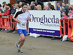 Brian Murphy running in the Integral Clogherhead 10K. Photo:Colin Bell/pressphotos.ie