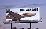 American Airlines billboard in Los Angeles, CA