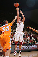 STANFORD, CA - DECEMBER 19:  Kayla Pedersen of the Stanford Cardinal during Stanford's 67-52 win over the Tennessee Lady Volunteers on December 19, 2009 at Maples Pavilion in Stanford, California.