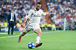 Real Madrid Dani Carvajal during UEFA Champions League match between Real Madrid and A.S.Roma at Santiago Bernabeu Stadium in Madrid, Spain. September 19, 2018. (ALTERPHOTOS/Borja B.Hojas)