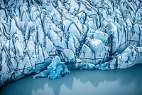 Aerial photo of crevasses at the terminus of Knik Glacier with the lake.<br /> <br /> Photo by Jeff Schultz/SchultzPhoto.com  (C) 2018  ALL RIGHTS RESERVED<br /> <br /> Abbie Winter photo tour workshop September 6-7 2018