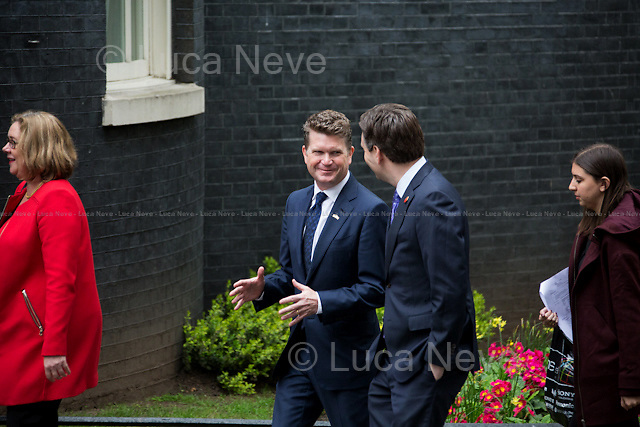 Matthew Barzun (United States Ambassador to the United Kingdom).<br />