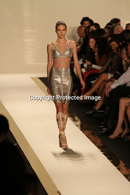 New York Mercedes-Benz Fashion Week Spring 2012 - Herve Leger - Runway New York City, USA - D9/13/11