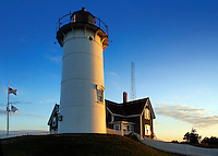 Nobska Point Light, Woods Hole, Cape Cod, Massachusetts, USA