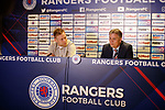 14.05.2018 Scott Arfield completes his move to Rangers with Mark Allen