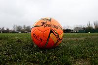 Orange football during Romford vs Basildon United, Bostik League Division 1 North Football at Rookery Hill on 24th November 2018