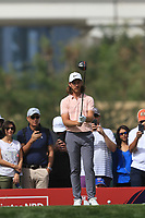 Tommy Fleetwood (ENG) on the 3rd tee during Round 2 of the Omega Dubai Desert Classic, Emirates Golf Club, Dubai,  United Arab Emirates. 25/01/2019<br /> Picture: Golffile | Thos Caffrey<br /> <br /> <br /> All photo usage must carry mandatory copyright credit (© Golffile | Thos Caffrey)