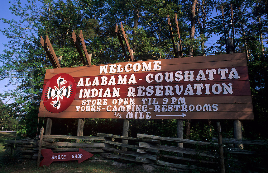 Alabama Coushatta Indian reservation, Livington Texas USA