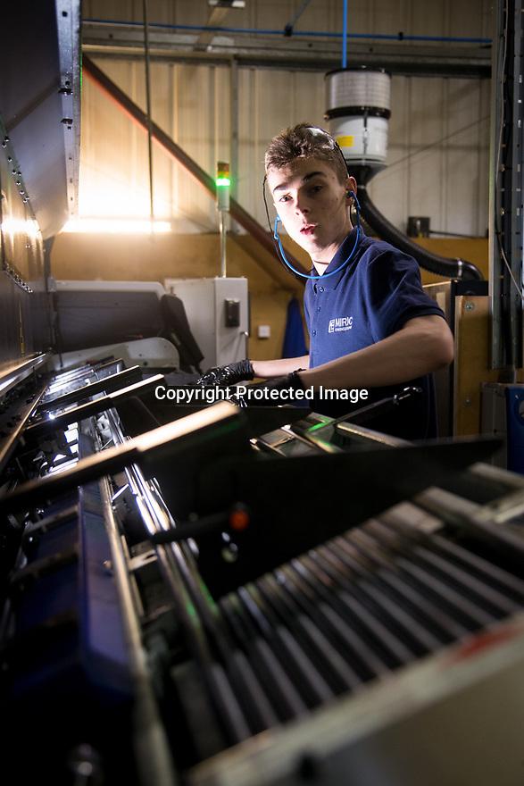 04/02/19<br /> <br /> ***Free Photo for Editorial Use***<br /> <br /> Miric Engineering, Hucknall, Nottinghamshire.<br /> <br /> All Rights Reserved, F Stop Press Ltd.  (0)7765 242650  www.fstoppress.com rod@fstoppress.com