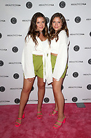LOS ANGELES, CA - AUGUST 11: Chiara D'Ambrosio, Bianca D'Ambrosio, at Beautycon Festival Los Angeles 2019 - Day 2 at Los Angeles Convention Center in Los Angeles, California on August 11, 2019. <br /> CAP/MPIFS<br /> ©MPIFS/Capital Pictures