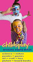 Advertising shot for ChildsPlay Educational Experience, Tauranga.