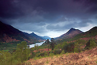 Loch Leven and Sgorr na Ciche from above Kinlochleven, Lochaber
