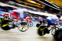 Picture by SWpix.com - 03/03/2018 - Cycling - 2018 UCI Track Cycling World Championships, Day 4 - Omnisport, Apeldoorn, Netherlands - Men's Omnium - Niklas Larsen of Denmark