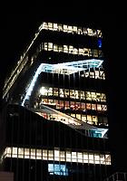 Nederland  Amsterdam -  September 2018. Zuidas. Vinoly toren.    Foto Berlinda van Dam / Hollandse Hoogte