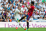 Gareth Bale of Real Madrid in action during the La Liga match between Real Madrid and Osasuna at the Santiago Bernabeu Stadium on 10 September 2016 in Madrid, Spain. Photo by Diego Gonzalez Souto / Power Sport Images