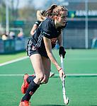 AMSTELVEEN - Felice Albers (A'dam) tijdens de hoofdklasse competitiewedstrijd hockey dames,  Amsterdam-Oranje Rood (5-2). COPYRIGHT KOEN SUYK