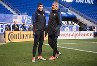 Harrison, NJ - March 3, 2017: The USWNT trains during the SheBelieves Cup at Red Bull Arena.