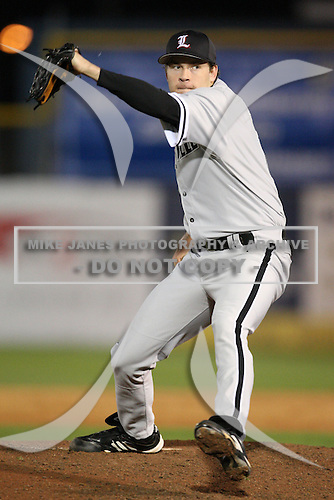 February 26, 2010:  Pitcher Thomas Royse of the Louisville Cardinals during a game at Dunedin Stadium in Dunedin, FL.  Photo By Mike Janes/Four Seam Images