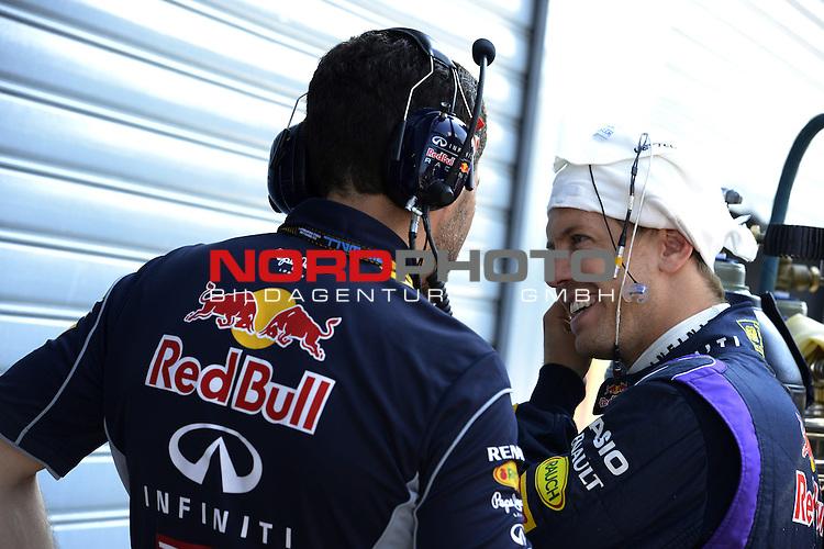 05.-08.09.2011, Autodromo Nationale, Monza, ITA, F1, Grosser Preis von Italien, Monza, im Bild  Sebastian Vettel (GER), Red Bull Racing <br />  Foto &copy; nph / Mathis